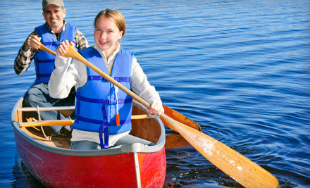 1-Night Stay for Two  in a Private 2-Room Cabin Plus Canoe Rental (a $210 value) - Milford House in South Milford