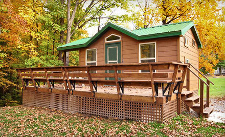 2-Night Rental of a Nonserviced Campsite - Bissells Hideaway in Ridgeville