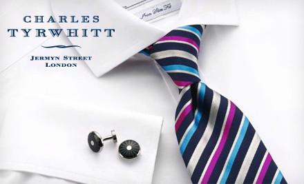 $50 Groupon to Charles Tyrwhitt - Charles Tyrwhitt in