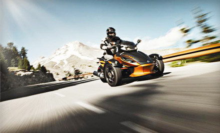 1 Half-Day Can-Am Spyder Rental (a $119 value) - Let's Ride Rentals in Albany