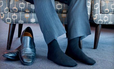 Good for a 12-Pack of Men's Dress Socks (a $36 value) - Men's Dress Socks in