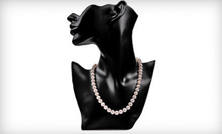 Authentic Pearl Necklace, Stud Earrings, Bracelet, or Complete Set from My Pacific Pearls (Up to 82% Off)
