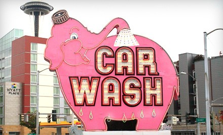 3 VIP Car Washes (a $55 value) - Elephant Car Wash in Maple Valley
