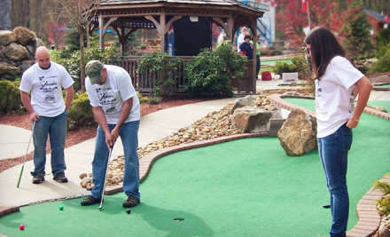 Two-Attraction Pass and Round of Mini Golf for Two - Chucksters in Chichester
