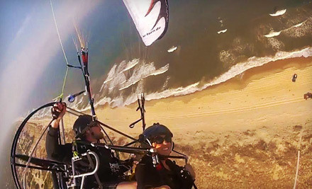 Up-to-30-Minute Paragliding Flight for One (a $300 value) - Paramotor Tours in