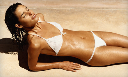 Custom Organic Airbrush Tan with Pre-Tan Prep Spray (a $55 value) - Solar Planet in Kensington