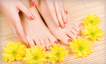 One Shatter Mani-Pedi or Tea-Tree Brazilian Wax - Confidence Beauty Salon & Spa in Manhattan