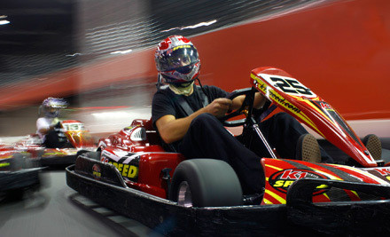 San Jose: $44 for a Go-Kart-Racing Package with Four Races and Two Annual Race Licenses at K1 Speed in Santa Clara (Up to $92 Value)