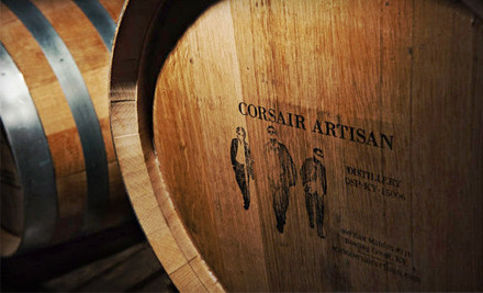 Nashville: Distillery Tour for One or Two with Glass, T-shirt, and Tastings at Corsair Artisan (Up to 60% Off)