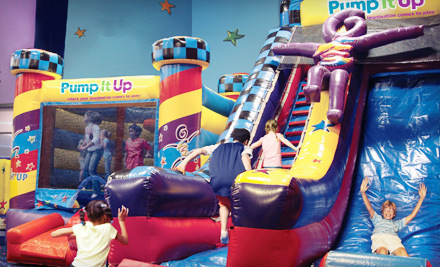 groupon pump it up lisle