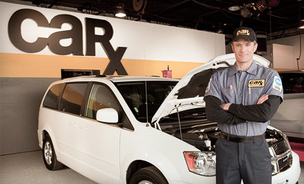 St Louis: $49 for Three Oil Changes and Tire Rotations at Car-X Tire & Auto ($132.72 Value)