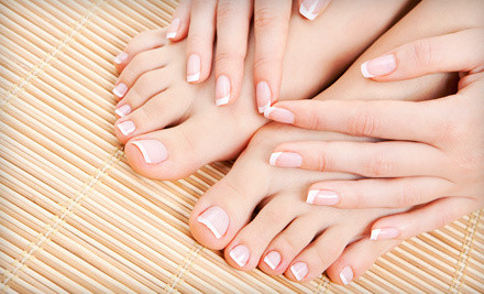 Gel or Solar Nails Manicure at California Nails & Spa (Up to 51% Off