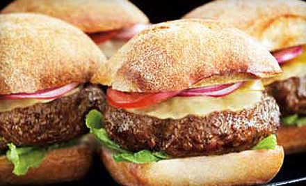 IMAGE La Cense Beef LLC STEAKBURGER medium $49 for 24 Grass Fed Steakburger Patties with Shipping from La Cense Beef ($99.96 Value)