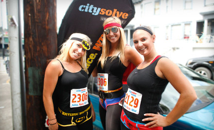 Entry for One, Two, or Four to the CitySolve Urban Race on Saturday, July 7 (Up to 62% Off)