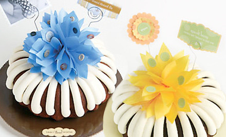 How can you find printable coupons to Nothing Bundt Cakes?