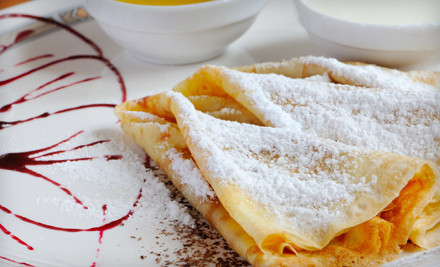 Crepes and Drinks at Crêpe Town (51% Off). Two Options Available.
