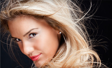 Haircut Package with Optional Face-Framing Painted Highlights at The Studio CL (67% Off)