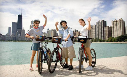 Two admissions to Bikes @ Night bicycle tour - Bike and Roll Chicago in Chicago
