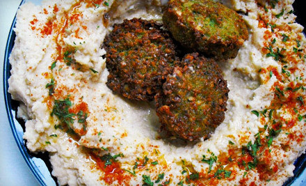 $10 for $20 Worth of Israeli Cuisine at Moses Falafel