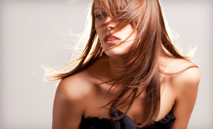 One keratin hair-straightening treatment - Indulgence Blow Dry Lounge in Mt. Kisco
