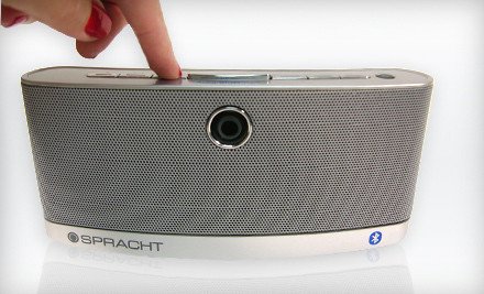 Abilene, TX: $39 for a Spracht Aura BluNote Portable Wireless Speaker ($99 List Price)