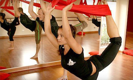 Six antigravity yoga or aerial fitness classes - Believe Fitness Studio in El Segundo
