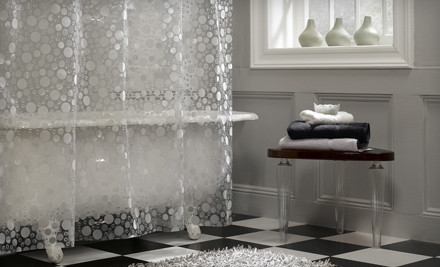 Maytex Fabric or Peva Shower Curtain Sets Groupon Still Available in