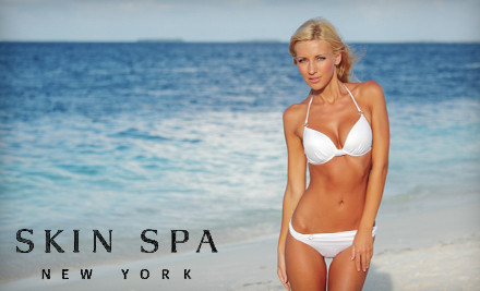 3 Laser Hair-Removal Treatments on a Small Area  - Skin Spa in Manhattan