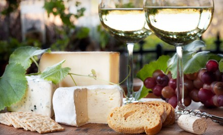 servlet medium Wine and Cheese Paring for Two or Four at Milk and Roses in Brooklyn (Up to 60% Off)