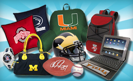 IMAGE Gameday Goods 2 medium $25 for $50 Worth of Collegiate  and Pro Sports Gifts from Gameday Goods
