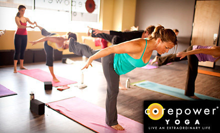 $59 for One Month of Unlimited Yoga Classes at CorePower Yoga ($159 Value)
