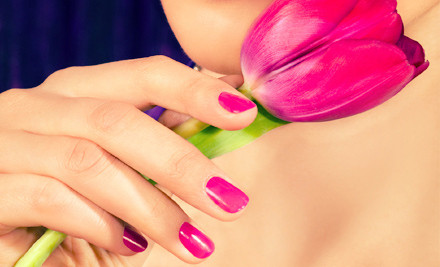 Regular Mani-Pedi or Gel Manicure with Regular Pedicure at Lucia's Health and Beauty (Up to 60% Off)