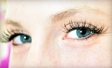 One set of full eyelash extenstions - The Bridal Beauty Salon in Chicago