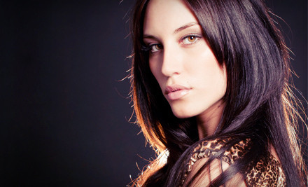 Haircut and Style with Optional Partial Highlights or Full Color at ...