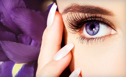 of Eyelash Extensions or Gel Manicure at Trevi Nails (Up to 58% Off