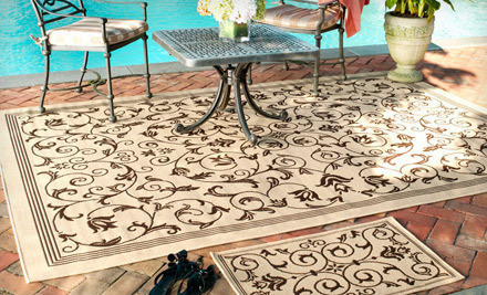 cloned image24495 0 medium Two Safavieh Indoor Outdoor Rugs (Up to 57% Off). Three Styles Available. Free Shipping.