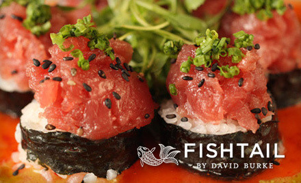 IMAGE Fishtail medium $79 for a Four Course Upscale Seafood Dinner for Two at Fishtail by David Burke (Up to $170 Value)