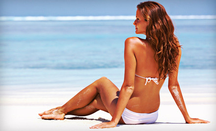 People Tanning On The Beach Daytona Salon U0026 Antiaging Deals