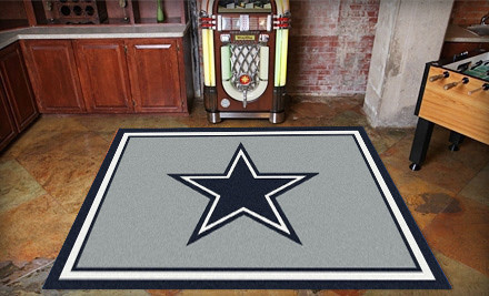Dallas Cowboy Rug Home Decor