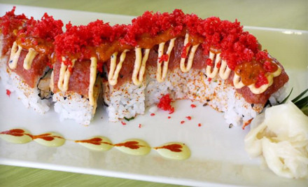 $40 Groupon - Sushipop in Houston
