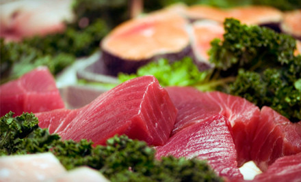 $30 Groupon - Seatide Gourmet Fish Market in Brooklyn