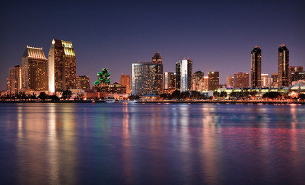 Option 1: One-night stay  - Sheraton Suites San Diego Hotel at Symphony Hall in San Diego