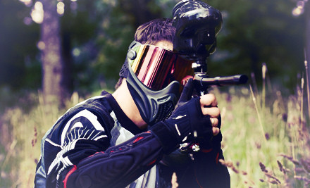All-Day paintball admission and gear for five - Midway Paintball Facility in Vacaville