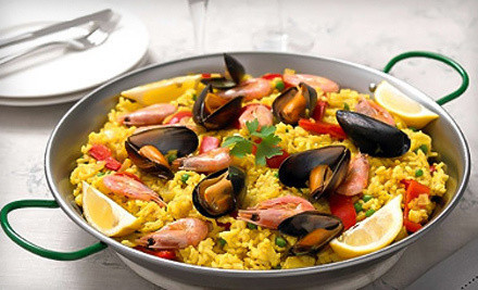 $24 Groupon for paella for two people - Paella House in Orlando