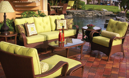 $99 for $300 Worth of Rattan Wicker and Patio Furniture