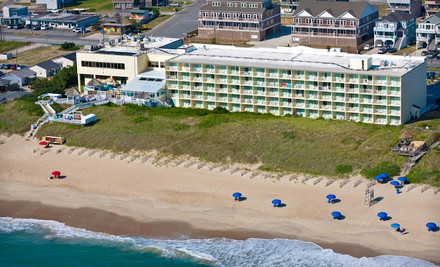 Ramada Plaza Nags Head Beach 01 medium One Night Stay at Ramada Plaza Nags Head Beach in Outer Banks, NC