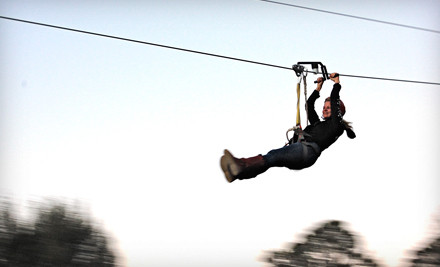 One super-zipline ride - Fire Wire Zip Lines in Blue Ridge