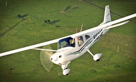 One introductory-flight pilot adventure, including ground classes and flight - Sawyer Aviation, LLC in Scottsdale