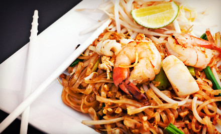 $24 Groupon - Thai Bistro & Sushi in Memphis