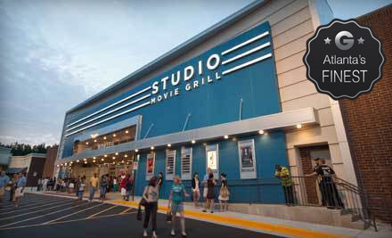 One movie ticket and one soft drink - Studio Movie Grill in Alpharetta